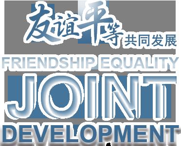 友誼和平共(gong)同(tong)發展